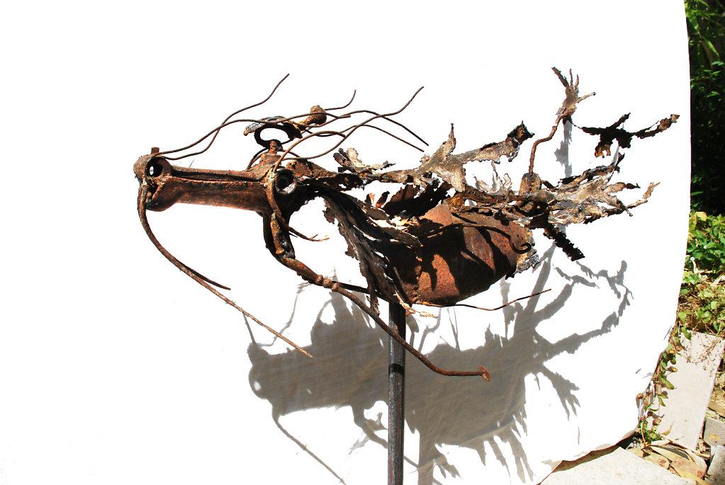 Hippocampe-feuillu ombré