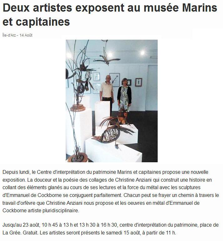 ouest france 14 aout 2015
