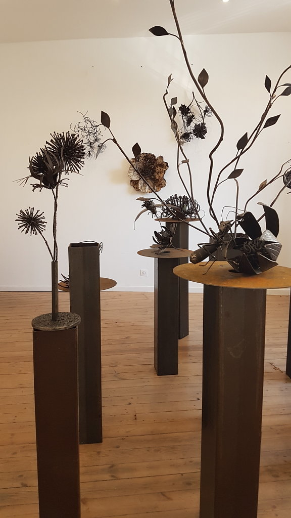 installation étage Galerie Marland